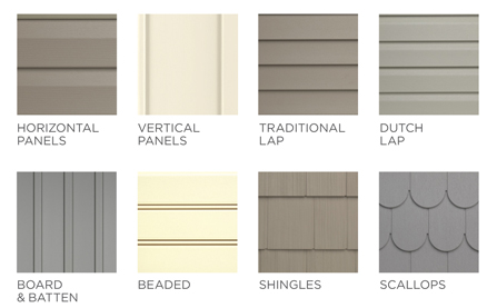 Exterior materials for homes home design for Types of house siding materials
